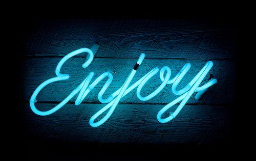 enjoy | #wordstoliveby