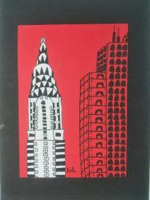 Bidt af billedkunst!: Skyskrabere i N.Y