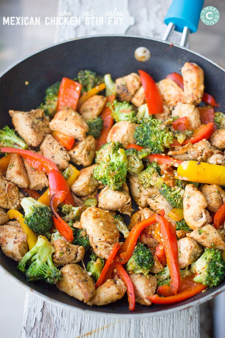 one pot paleo mexican stir fry- this is so delicious and works on the take shape for life plan!