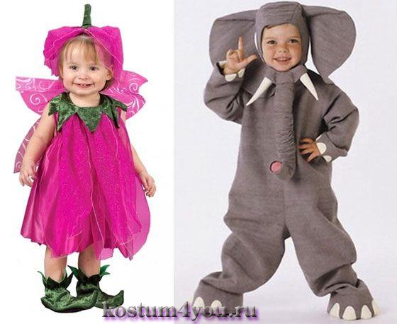 новогодние костюмы для малышей своими руками