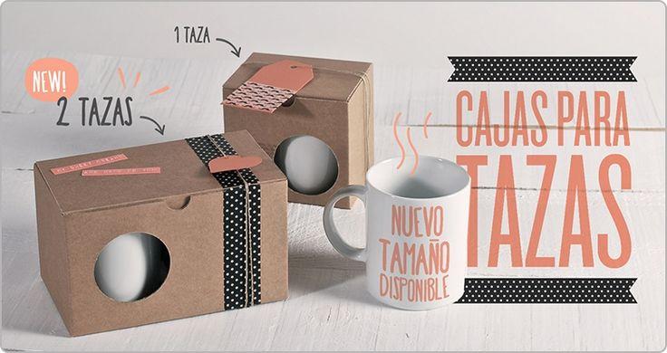 Nueva caja para tazas