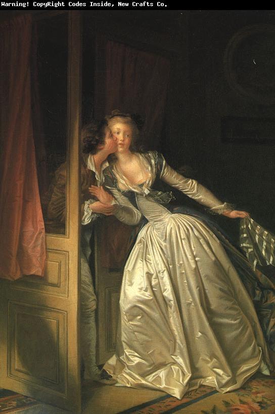 Jean-Honore Fragonard - The Stolen Kiss, 1780