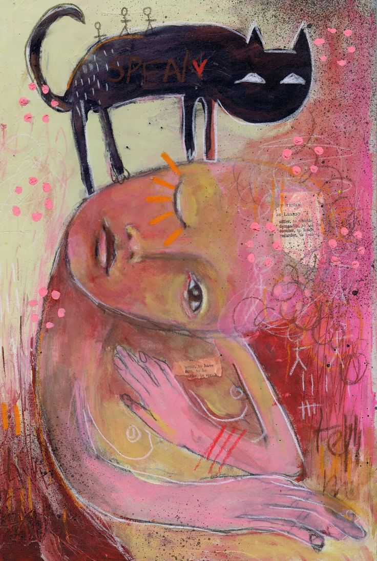 mitsib: end of february 2014 original painting