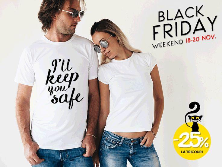 Set Tricouri cuplu #blackfriday
