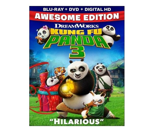 Kung Fu Panda 3-Click the link to place a hold on this item with your Lehi Library card number