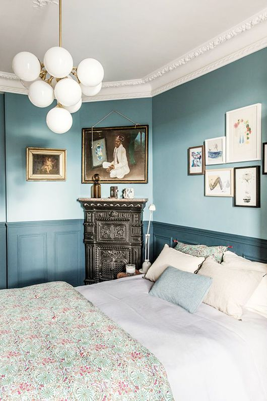 Find This Pin And More On ++ Sfgirlbybay Blogs ++ By Sfgirlbybay. Blue  Bedroom With Modern ...