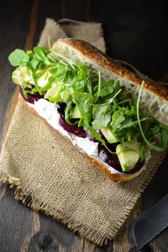 roasted beet goat cheese and avocado sandwich market sandwiches ...