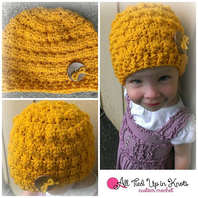 Ravelry: Sherri Berry Reversible Cluster Beanie pattern by Donna Knox--NB to adult