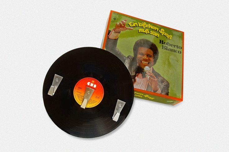 Vinyl-3er-Garderobe