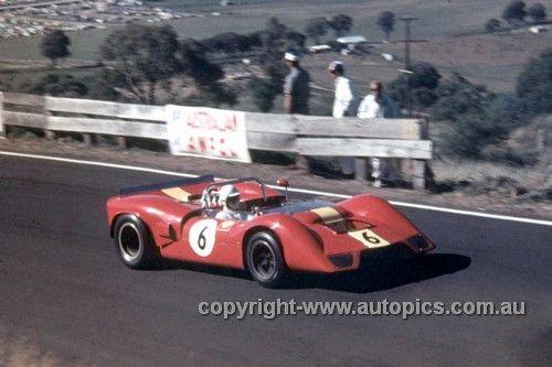 694000 - Bevan Gibson, ElfinRepco V8 - Bathurst 1969 - Photographer Geoff Arthur - AUTOPICS