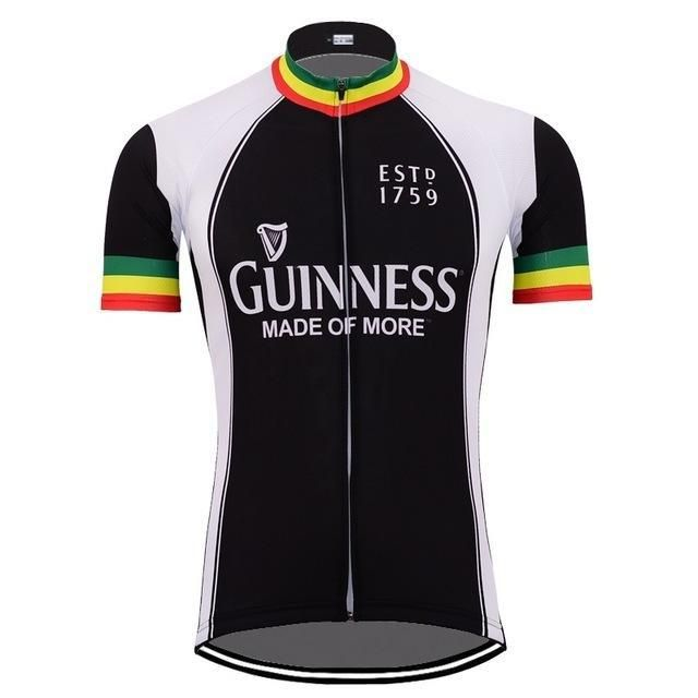 Ireland Guinness Beer Team Retro Cycling Jersey With Images