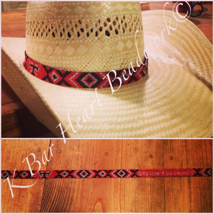 hat bands style deer on american beaded inspired hide wolf store band native