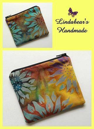 Handmade by Lindabears Handmade Batik Purse