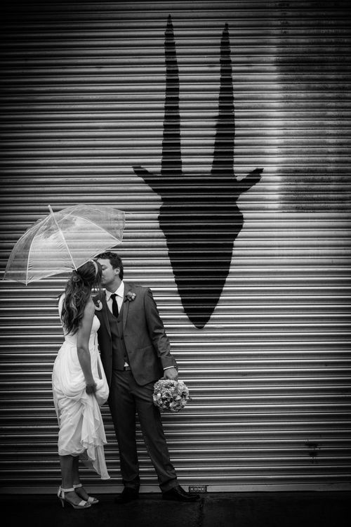 Jess & Brendon's Mountain Goat Brewery Wedding by Anthony Milnes Photography, with Marriage Celebrant Melbourne   Meriki Comito.