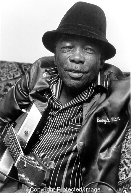 John Lee Hooker, 6/20/84. American blues singer-songwriter and guitarist, born…
