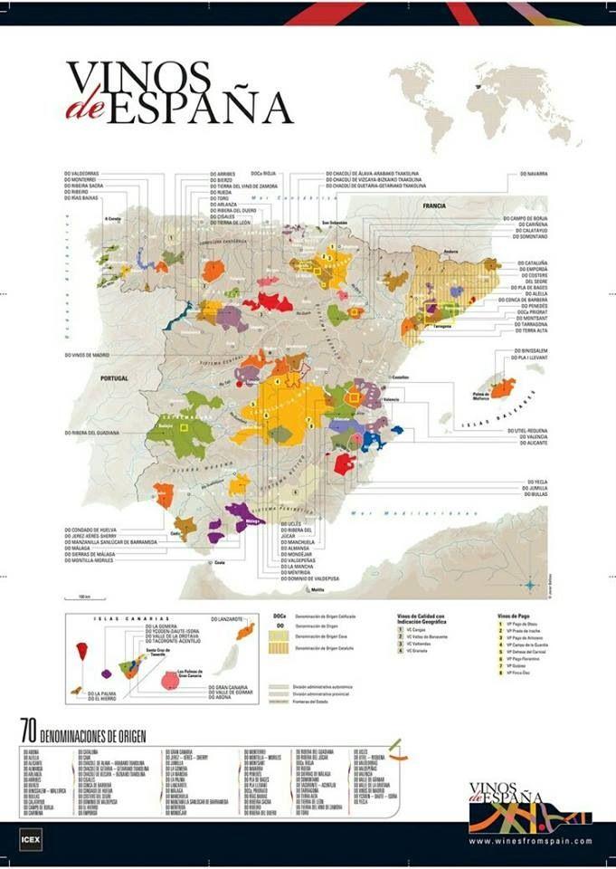 Wine regions Spain   #Wine #Spain  Re-pinned by www.avacationrental4me.com