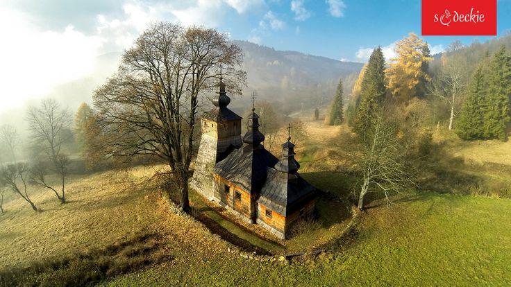 Drewniana Cerkiew pw. Św. Michała Archanioła w Dubnem z 1863 r. fot. A. Klimkowski