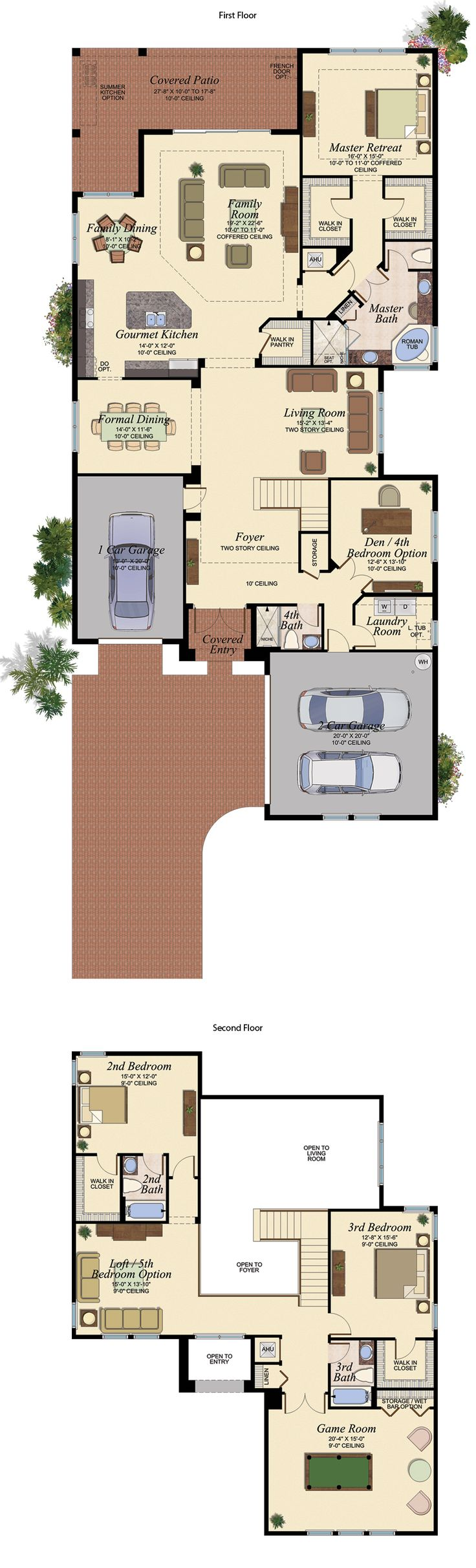 VIZCAYA/606 Floor Plan (Large View)