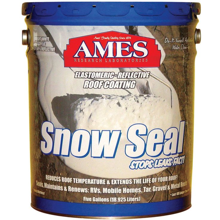 Ames® 5gal Snow Seal Roof Coating (SS5) Roof