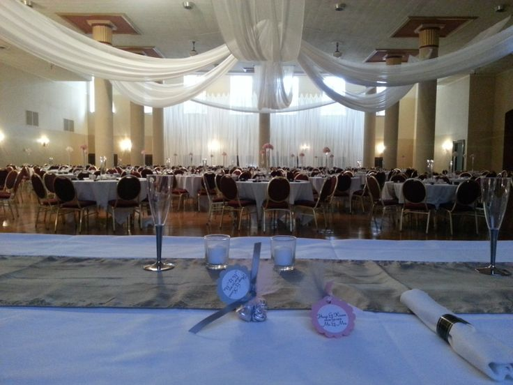 Des Moines Scottish Rite Consistory Wedding Reception | Wedding ...