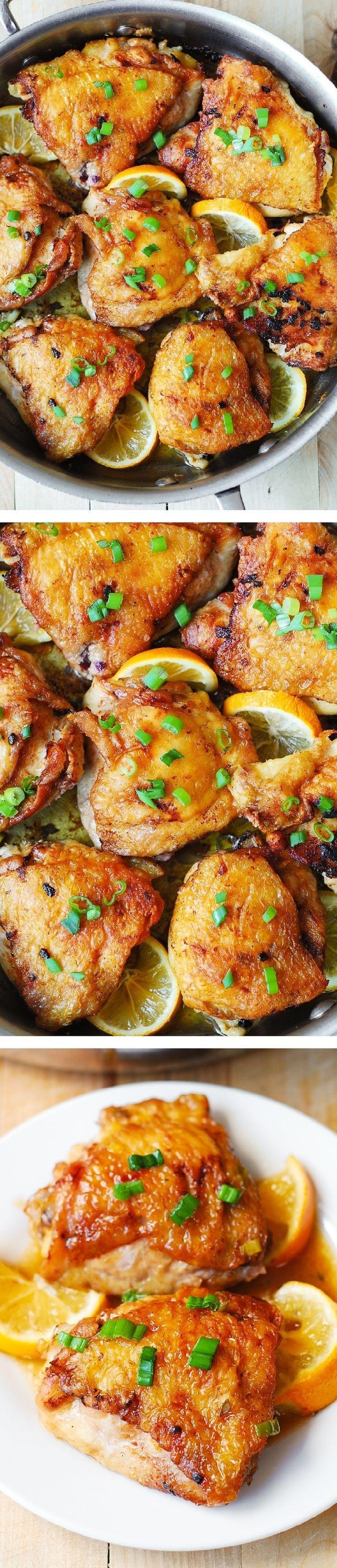 Lemon Ginger Chicken Thighs