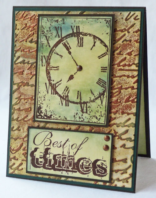 Scraps of Life: Hampton Art Stamps - Faux Patina