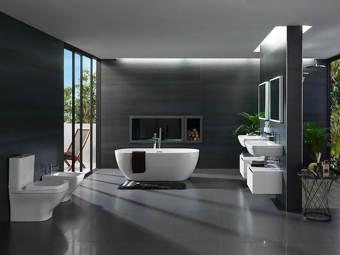 566 best Badezimmer Ideen u2013 Fliesen, Leuchten, Dekoration images