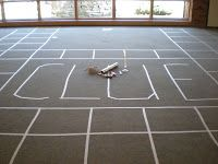 "Life-Sized Clue game -- we DO have the room to do it. Mystery ""beneath the surface."""