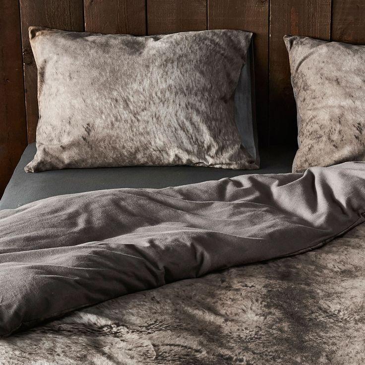 Essenza Flanell Bettwäsche Duca grey online kaufen