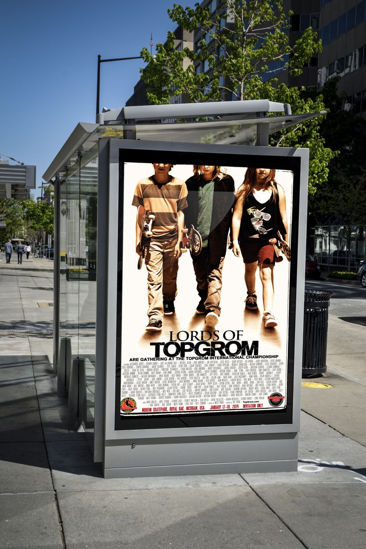 TopGrom Championship Poster 2013 - bus stop