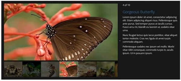 20 Beautiful jQuery Images Gallery & Sliders Plugins