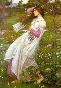 Windflowers 1903 by John William Waterhouse