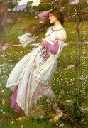 Windflowers 1903  by John William Waterhouse