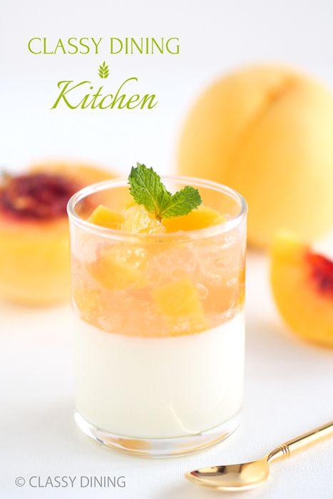 CLASSY DINING Kitchen - Yogurt mousse ヨーグルトムース レシピ