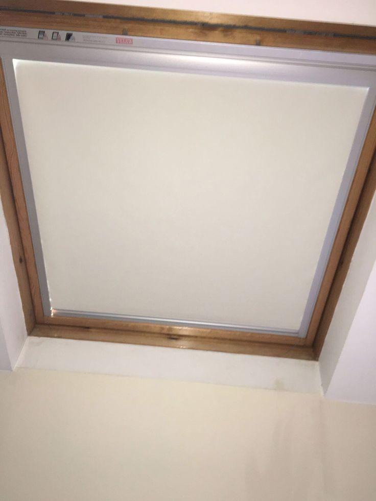 Velux roof blind for a customer, Frodsham. www.blinds-frodsham.co.uk
