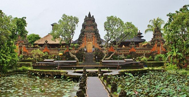 A beautiful temple in Ubud, Bali, Indonesia - which gained its independence on this date in 1949.  Been to Indonesia?  Rate and review it at DestinationRecommended.com/destinations/Indonesia today!  #WonderfulIndonesia #Indonesia #travel #tourism #review #rating