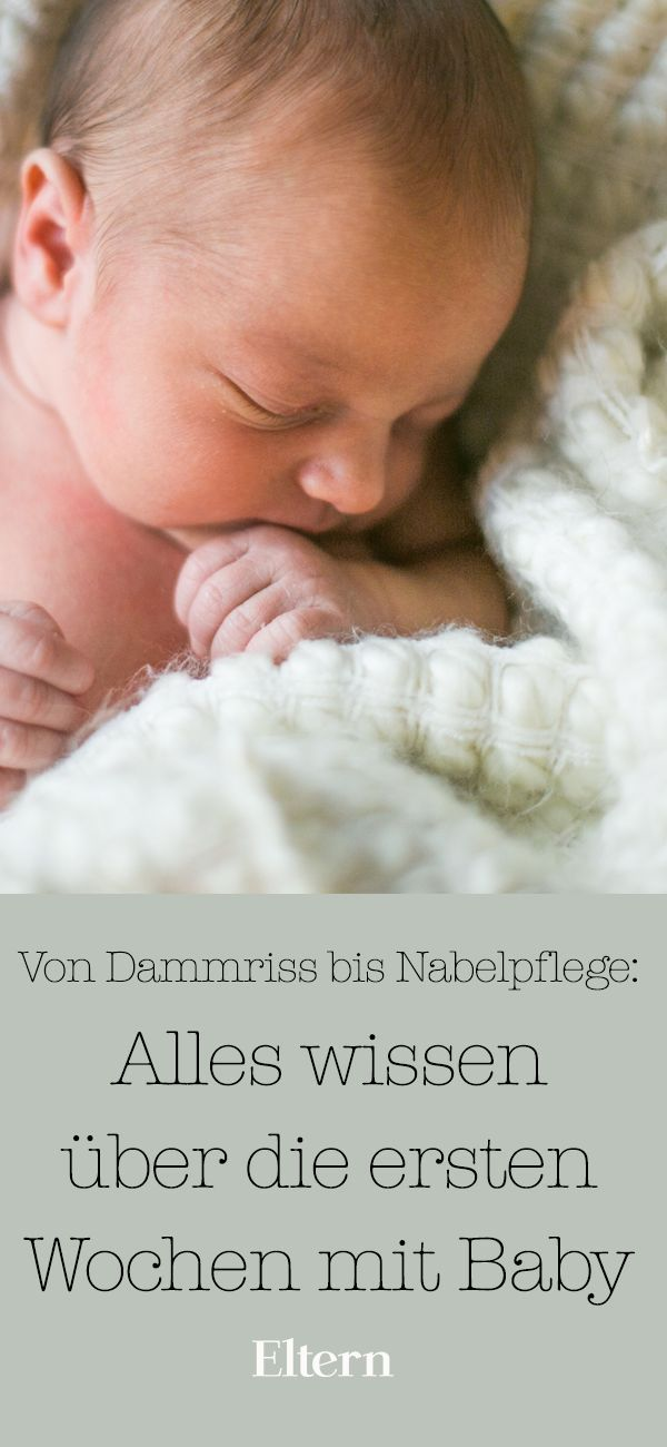 Alles wissen über die ersten Wochen mit Baby – Wochenbett