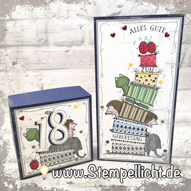 Stempellicht: Cake Crazy und Love you Lots zum 18. Geburtstag #cakecrazy #loveyoulots #stampinup
