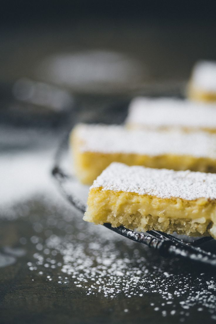 Lemon bars - Green Kitchen Stories