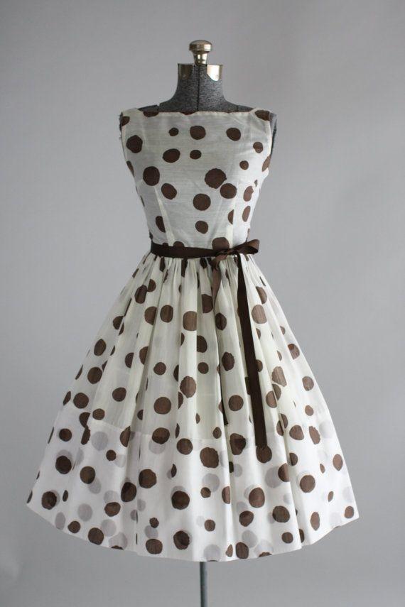 Vintage 1950s Dress / Jeanne D'Arc / by TuesdayRoseVintage