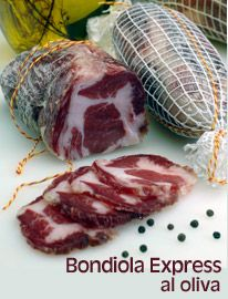 bondiola express al oliva