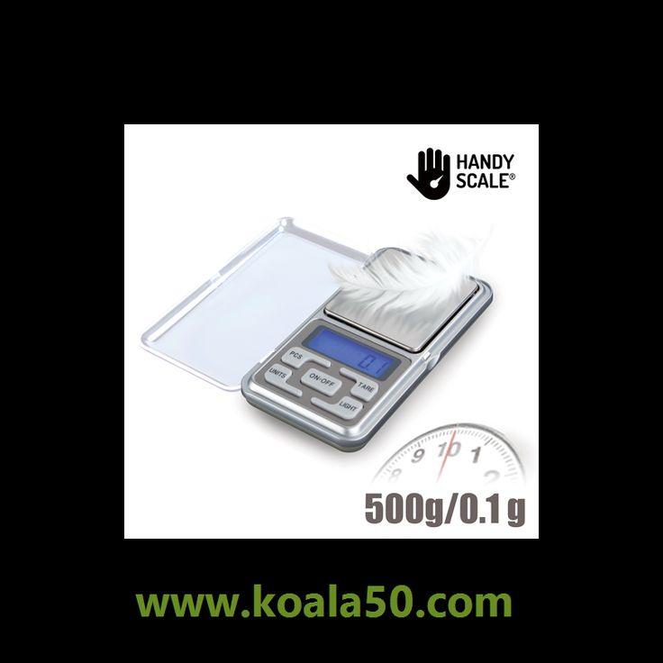 Báscula Digital de Precisión Handy Scale - 7,06 €  ¡Ya puedes pesar los objetos más pequeños con la estupenda báscula digital de precisión Handy Scale! Una práctica y manejable balanza con tapa protectora acrílica y base de peso de acero...  http://www.koala50.com/gadgets-originales/bascula-digital-de-precision-handy-scale
