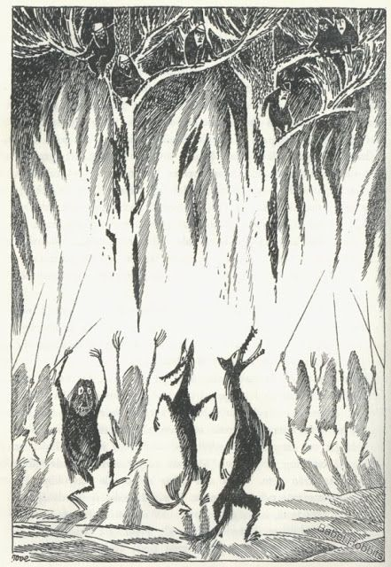 Tove Jansson: goblins and wolves