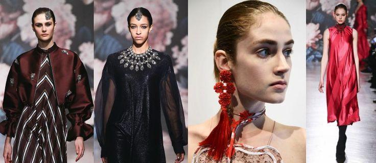 Semana De La Moda Nueva York 2017: Estilo Indio, Chino, Japones y Africano - Tendencias en Joyería