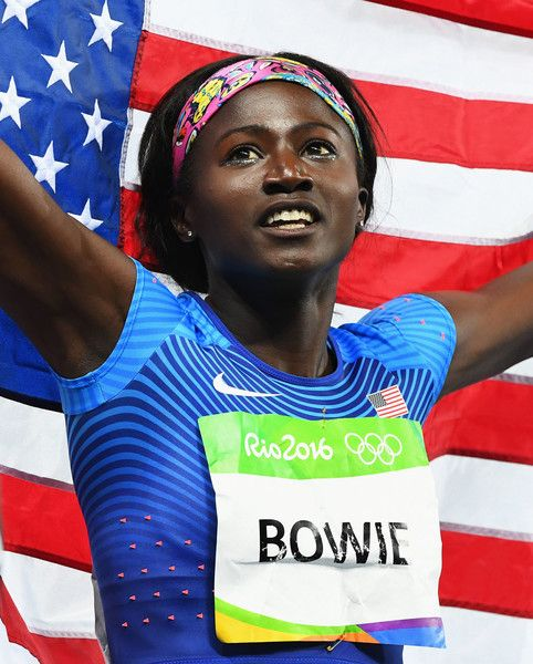 tori bowie | athletics olympics day 8 in this photo tori bowie tori bowie of the…