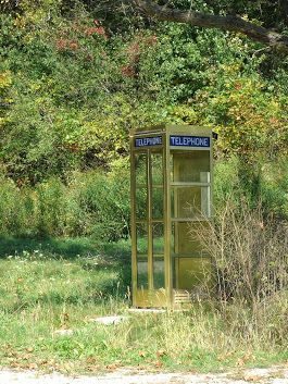 "One day, near Tyrol Basin ski resort, I saw an empty phone booth.  I didn't see any signs of Bill, Ted, Billy the Kid or So-crates; but, I did see a couple of ""historic babes"" so I am sure they were nearby. :)   https://tyrolbasin.com/ http://en.wikipedia.org/wiki/Bill_%26_Ted's_Excellent_Adventure  Here is the original link if you want to travel through time to 2014 in a phone booth. : https://plus.google.com/+SteveJacobsofEarle/posts/QiWGQf9w5v9  #Phone #Booth #Time #Travel is not #Bogus"