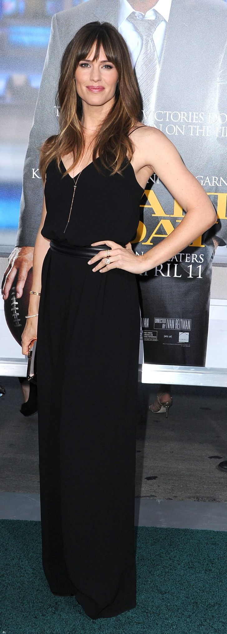Jennifer Garner in Max Mara at the Draft Day premiere.