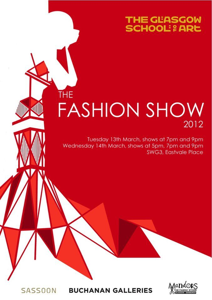 Fashion Show Poster Google Search Branding Pinterest
