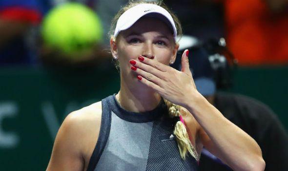 Caroline Wozniacki reveals how she crushed Simona Halep in WTA Finals
