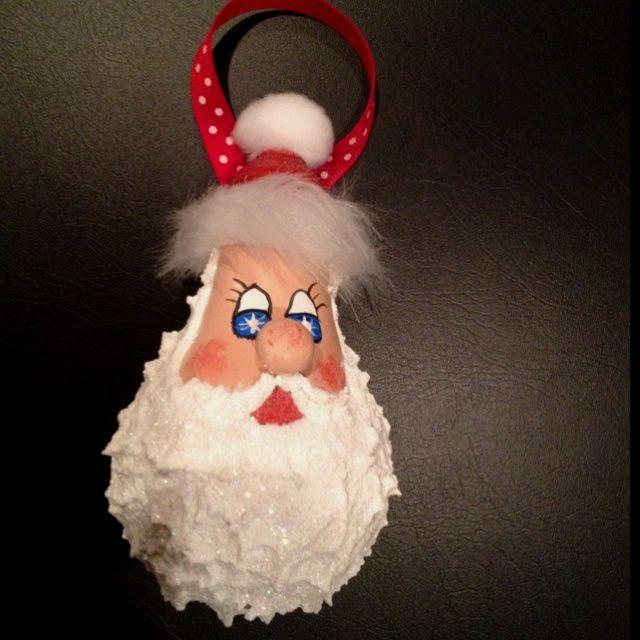 Light Bulb Christmas Ornament Craft